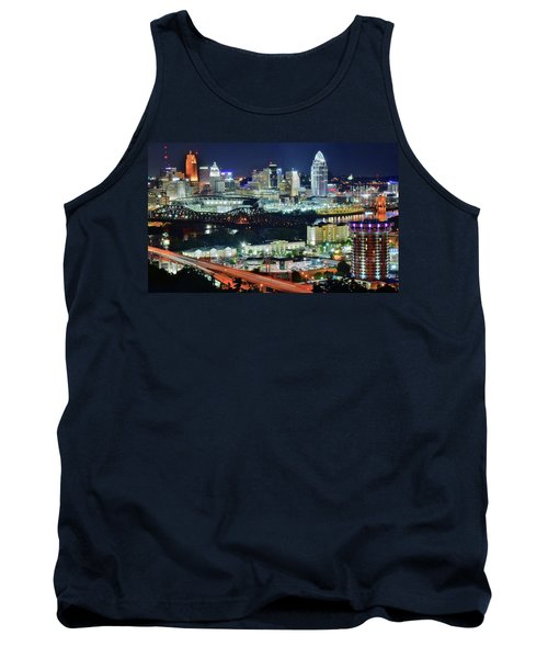 Cincinnati And Covington Collide Tank Top