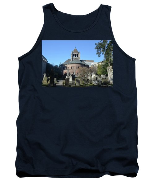 Circular Congregational Church Tank Top by Gordon Mooneyhan