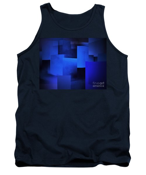 Night In The City Of Blues Tank Top