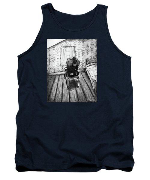 Rhode Island Civil War, Vacant Chair Tank Top