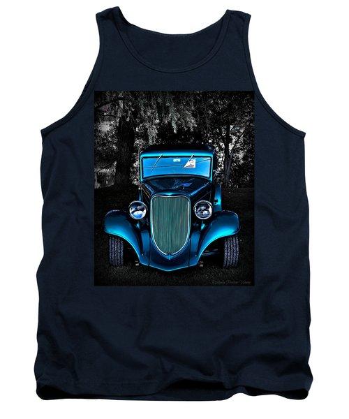 Classic Blue Tank Top