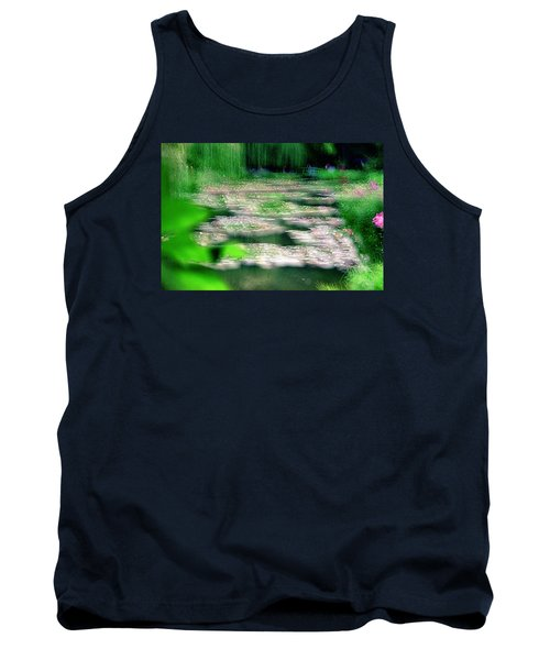 Tank Top featuring the photograph Claude Monets Water Garden Giverny 1 by Dubi Roman