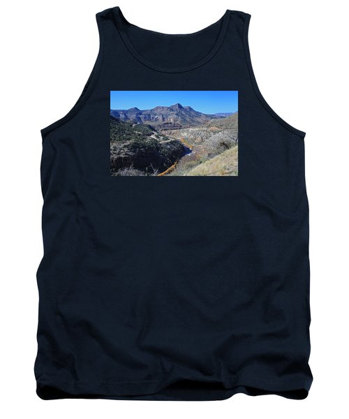 Clear And Rugged Tank Top by Gary Kaylor