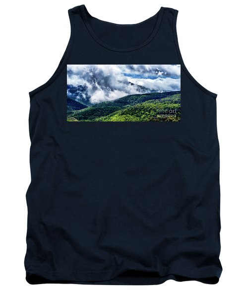 Tank Top featuring the photograph Clearing Storm Highland Scenic Highway by Thomas R Fletcher