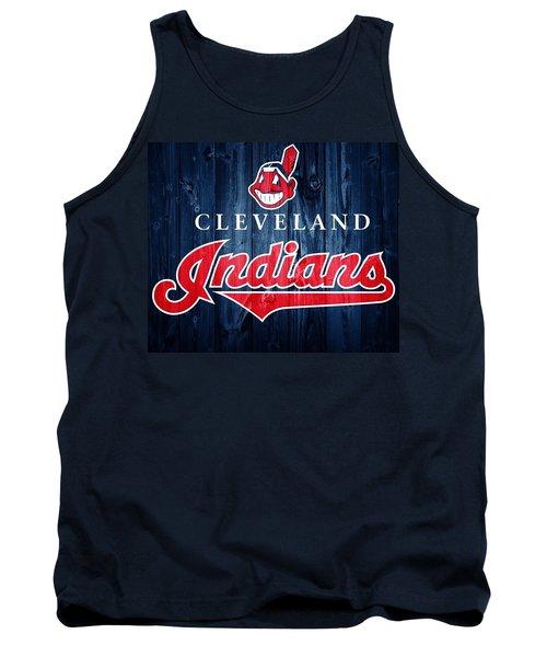 Cleveland Indians Barn Door Tank Top