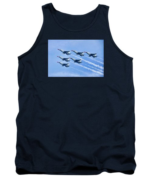 Cleveland National Air Show - Air Force Thunderbirds - 1 Tank Top