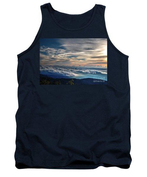 Tank Top featuring the photograph Clouds Over The Smoky's by Douglas Stucky
