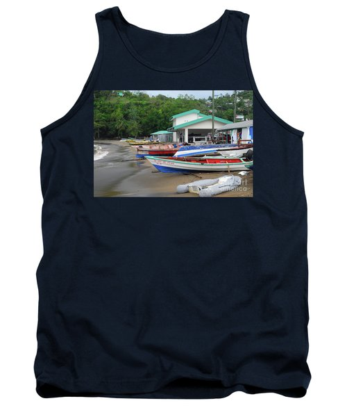 Tank Top featuring the photograph Coast Line by Gary Wonning