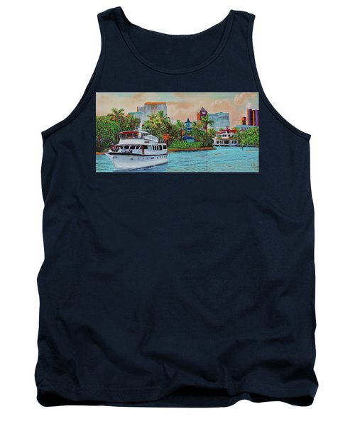 Cocktails On The New River Tank Top