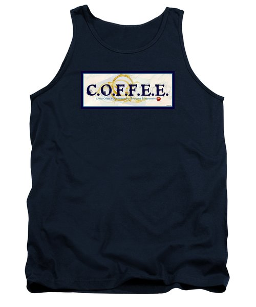 Coffee For Christ Tank Top