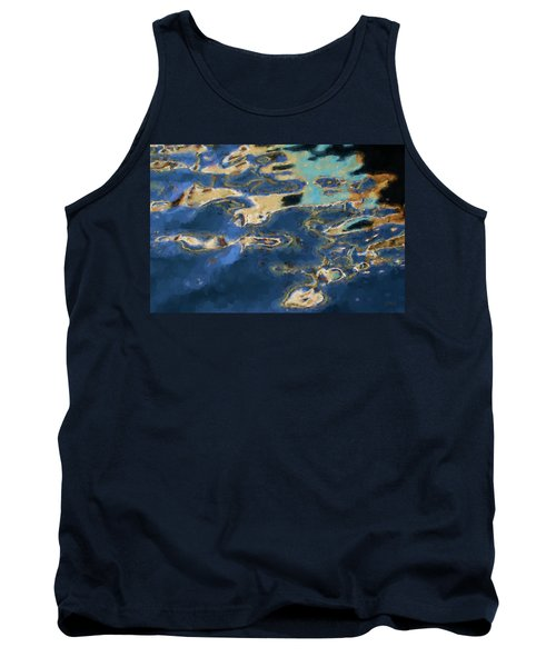Tank Top featuring the photograph Color Abstraction Xxxvii - Painterly by David Gordon