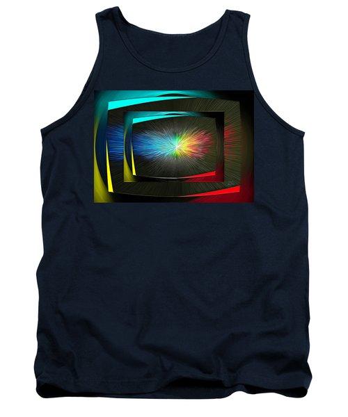 Color Tv Tank Top