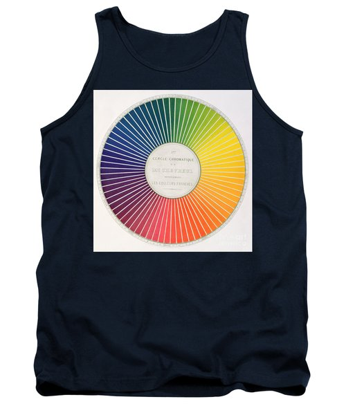 Color Wheel Tank Top