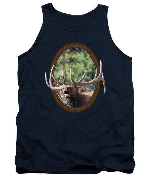 Tank Top featuring the photograph Colorado Bull Elk by Shane Bechler