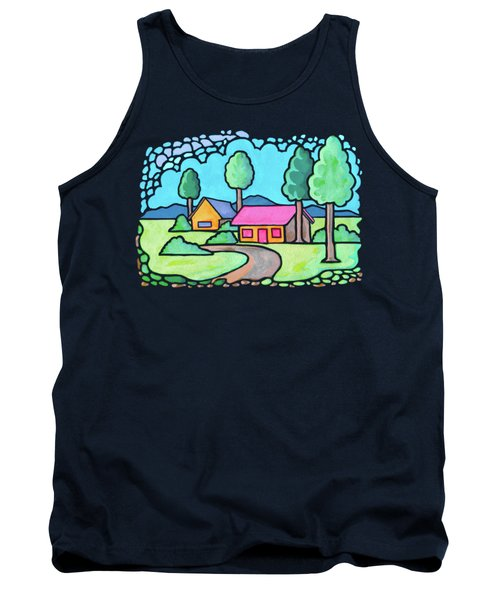 Houses And Trees Tank Top