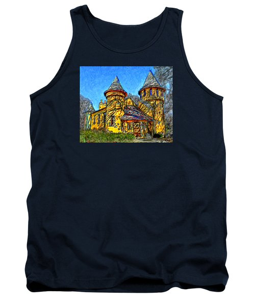 Colorful Curwood Castle Tank Top by Bruce Nutting