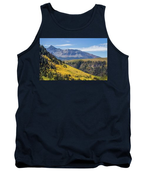 Colorful Mountains Near Telluride Tank Top