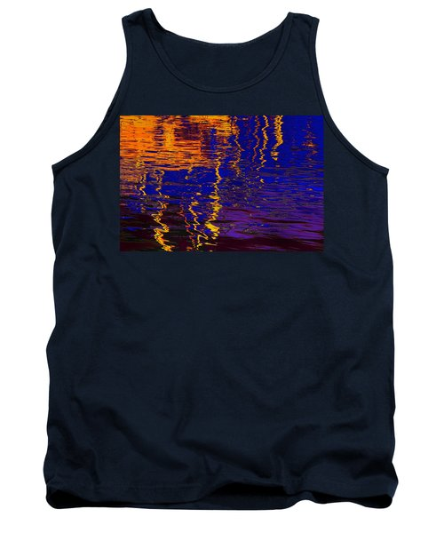 Colorful Ripple Effect Tank Top