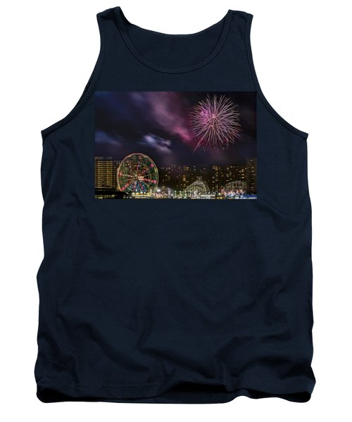 Coney Island Fireworks Tank Top