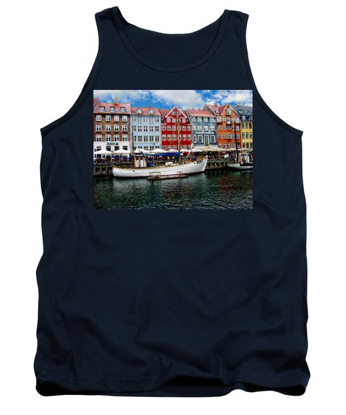 Copenhagen - Denmark Tank Top by Anthony Dezenzio