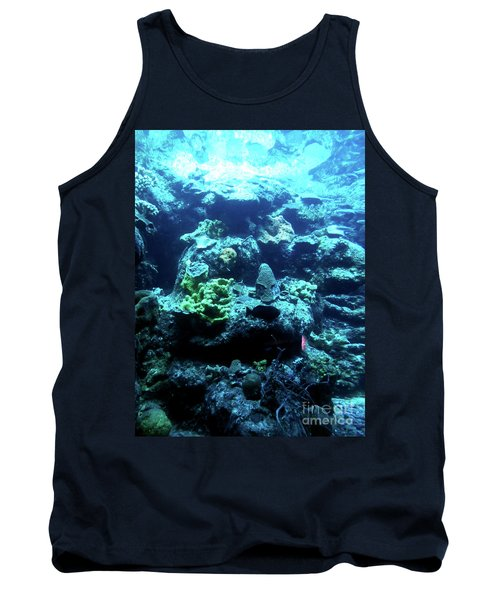 Tank Top featuring the photograph Coral Art 4 by Francesca Mackenney
