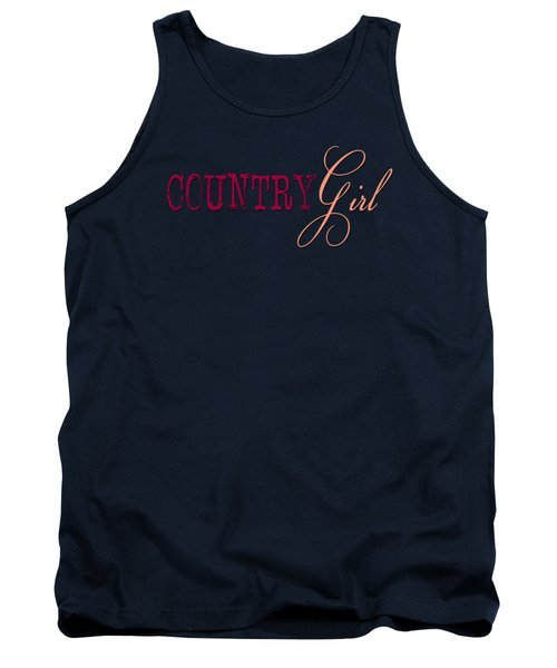 Country Girl Tank Top by Liesl Marelli