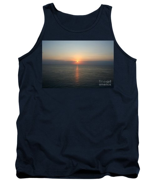 Tank Top featuring the photograph Cozumel Sunset by John Black