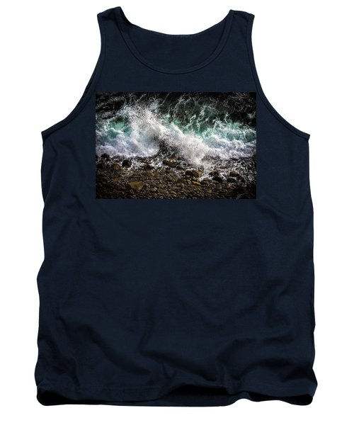 Crashing Surf Tank Top
