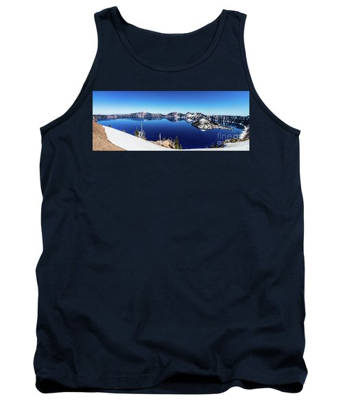 Tank Top featuring the photograph Crater Lake by Jonny D