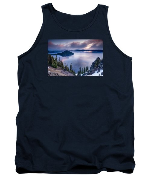 Crater Lake Spring Morning Colors Tank Top