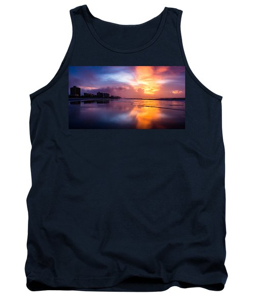 Crescent Beach Sunrise Tank Top