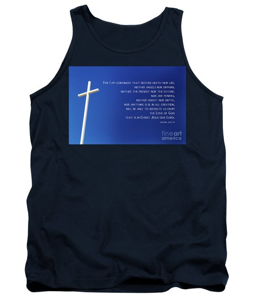 Cross With Blue Sky Tank Top