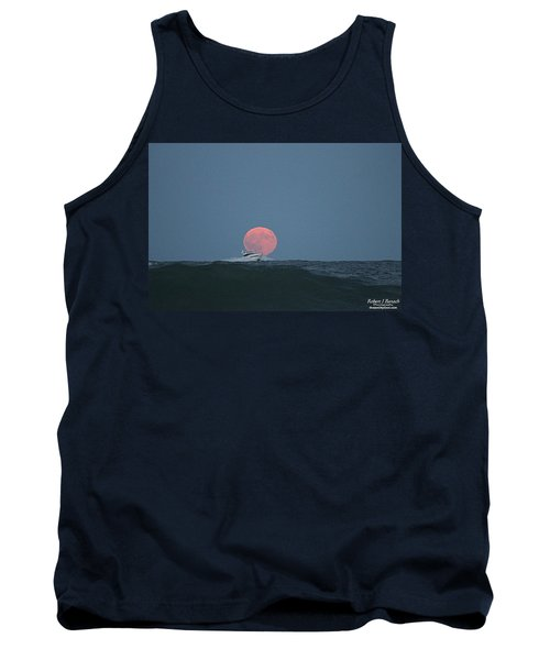 Cruising On A Wave During Harvest Moon Tank Top