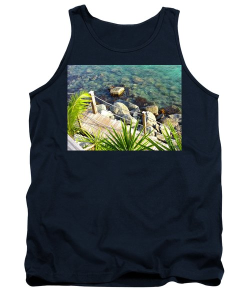 Crystal Clear Tank Top by Beth Saffer