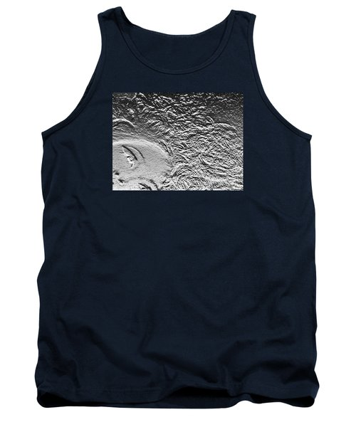 Tank Top featuring the digital art Crystalized by Lyric Lucas