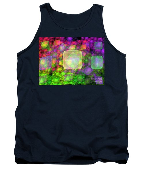 Cube Galaxies Tank Top