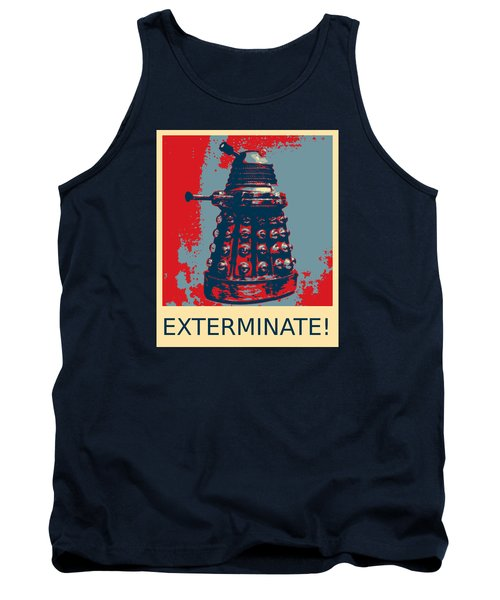 Tank Top featuring the photograph Dalek - Exterminate by Richard Reeve
