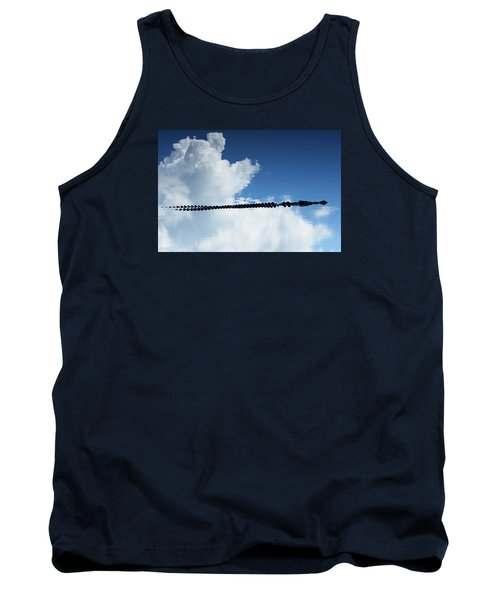 Tank Top featuring the photograph Dangerous Reflection Saltwater Crocodile 2 by Gary Crockett