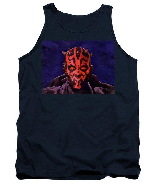 Darth Maul Dark Lord Of The Sith Tank Top