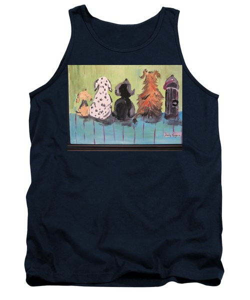 Dawg Outhouse Tank Top