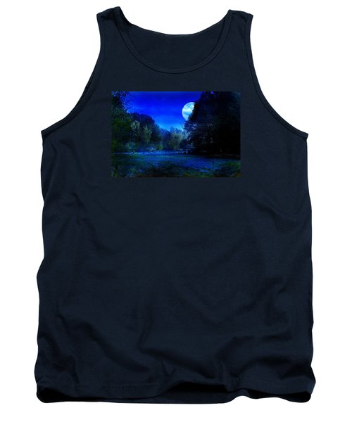 Dawn At Night Tank Top by Bernd Hau