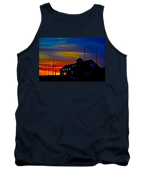 Dawn At The Boatbuilder  Tank Top