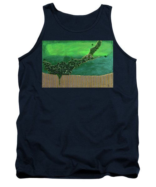 Deep Impact Tank Top by Donna Blackhall