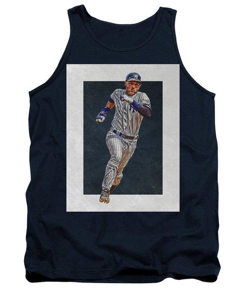 Derek Jeter New York Yankees Art 3 Tank Top