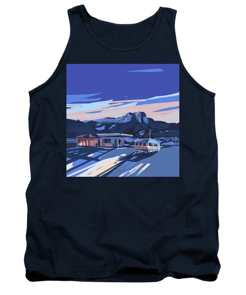 Desert Landscape 2 Tank Top by Bekim Art