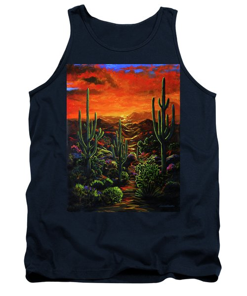 Desert Sunset Tank Top