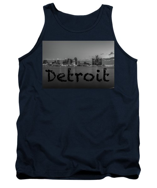 Detroit City  Tank Top