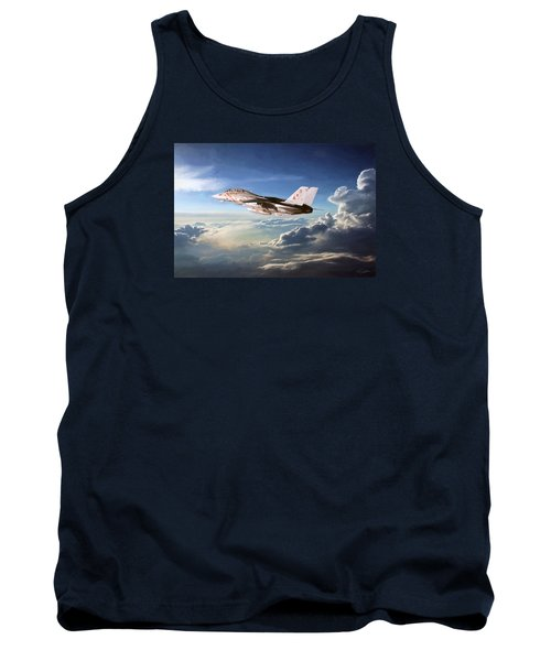 Diamonds In The Sky Tank Top by Peter Chilelli