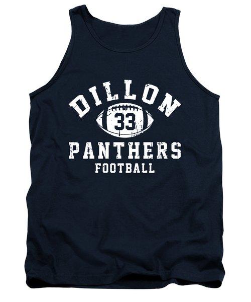 Dillon Panthers Football Tank Top