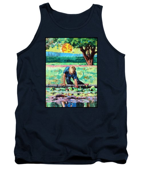 Discovering A World Of Beauty Tank Top by John Lautermilch